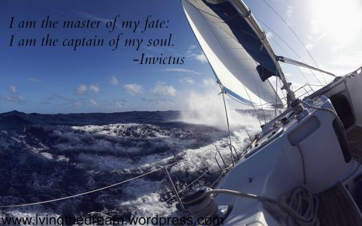 rough seas  Invictus