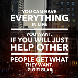 how helping others benefits you in the long run.
