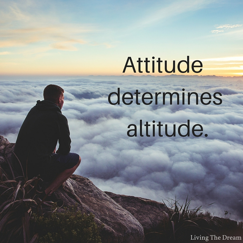 your attitude determines your altitude essay help
